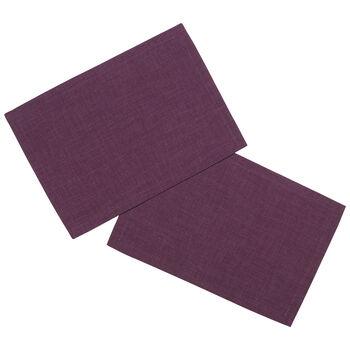Textil Uni TREND Tovaglietta viola 2 pz. 35x50cm