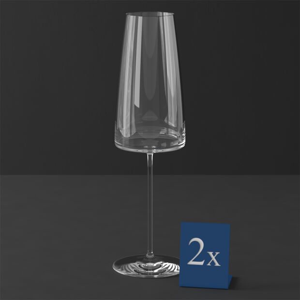 MetroChic bicchiere da spumante, 2 pezzi, 450 ml, , large