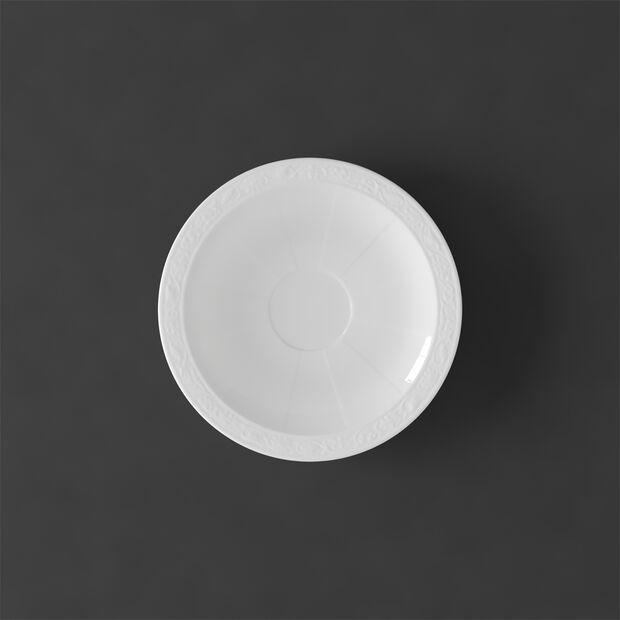 White Pearl piattino per tazza da espresso, , large