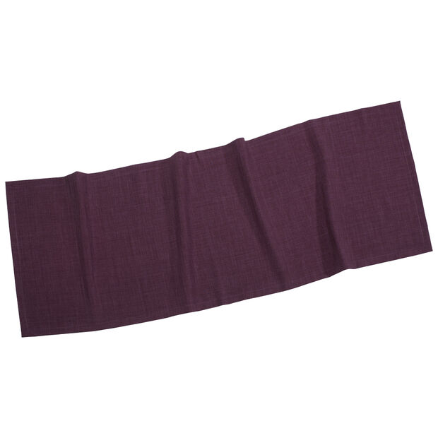 Textil Uni TREND Cam.de mesa violeta 50x140cm, , large