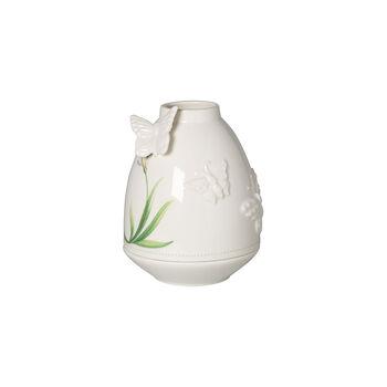 Colourful Spring portavela antiviento, blanco/verde