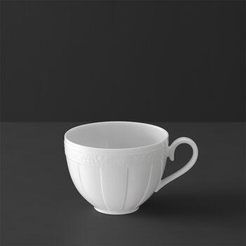 White Pearl tazza da caffè/tè senza piattino