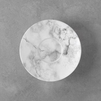 Marmory piattino per tazza da caffè White, 16x16x2cm