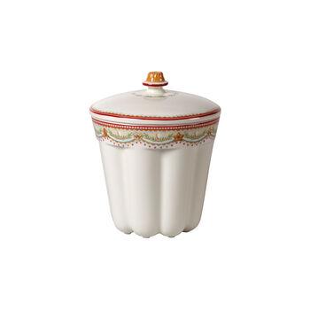 Winter Bakery Delight barattolo gugelhupf piccolo, rosso/multicolore, 13 x 13 x 16 cm, 720 ml