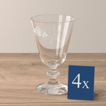Vieux Luxembourg bicchiere da vino rosso, 4 pezzi