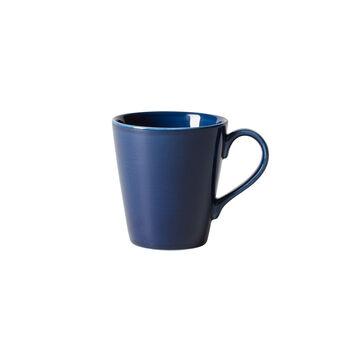 Organic Dark Blue tazza con manico, blu scuro, 350 ml