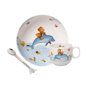 Happy as a Bear Set vajilla infantil, 3 piezas