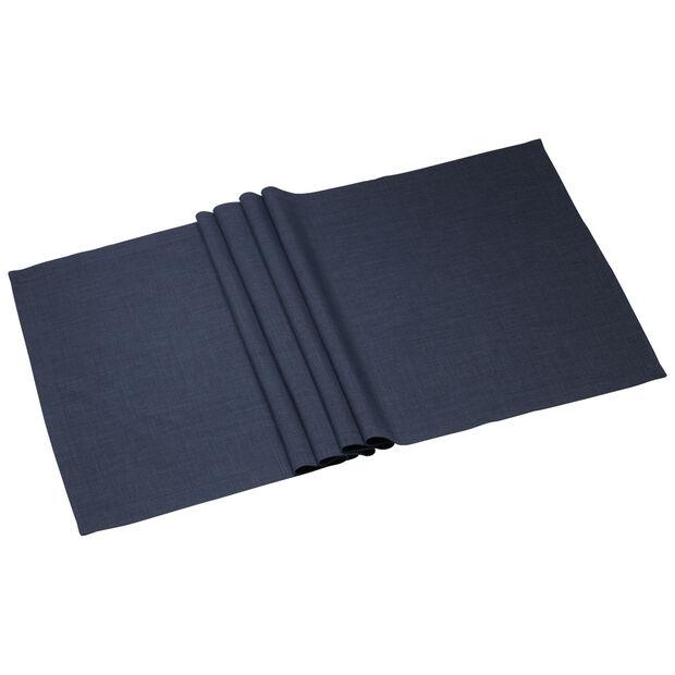 Textil Uni TREND Striscia vintage blue 50x140cm, , large