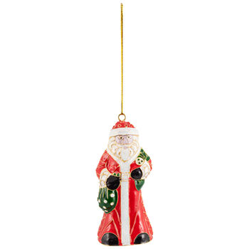 Winter Collage Accessoires pendente di metallo Babbo Natale, multicolore, 12 cm