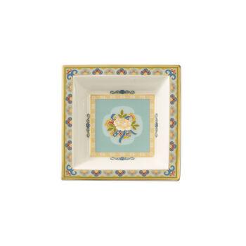 Samarkand Aquamarine coppetta dessert quadrata 10x10 cm