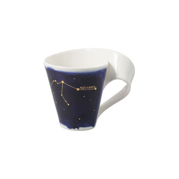 NewWave Stars tazza Acquario, 300 ml, blu/bianco