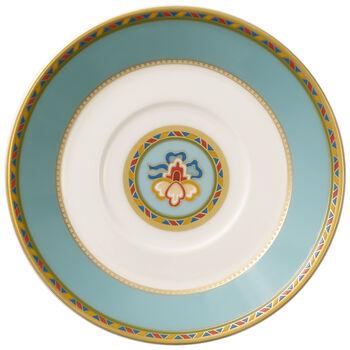 Samarkand Aquamarin piattino per tazza da espresso