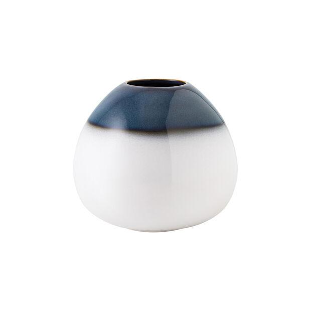 Lave Home vaso Egg Shape, 14,5x14,5x13cm, blu, , large