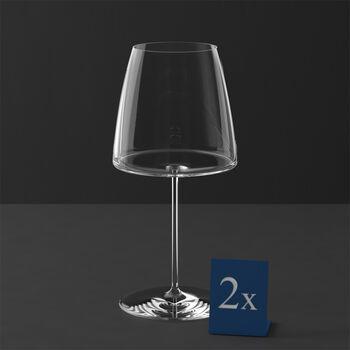 MetroChic bicchiere da vino rosso, 2 pezzi, 830 ml