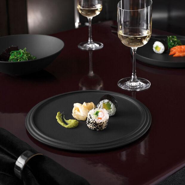 Iconic piatto da portata, nero, 24 x 1 cm, , large
