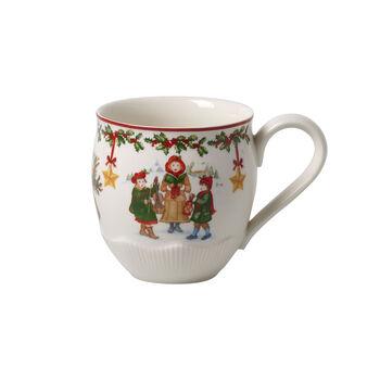 Toy's Fantasy mug grande motivo bambini, rosso/multicolore, 530 ml