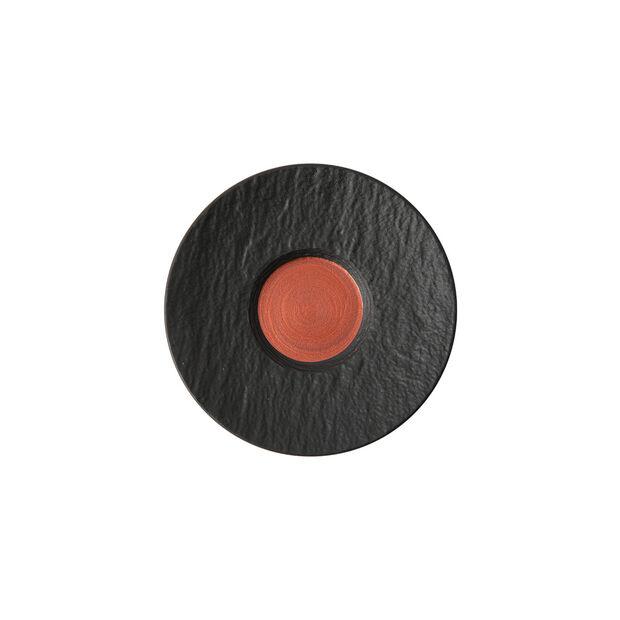 Manufacture Rock Glow piattino per tazzina da espresso, rame/nero, 12 x 12 x 2 cm, , large