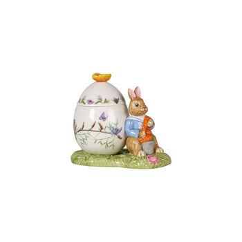 Bunny Tales Barattolo uovo di Pasqua Max con carota 11x6,5x9,5cm