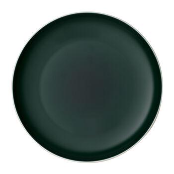 it's my match piatto, 27 cm, verde scuro