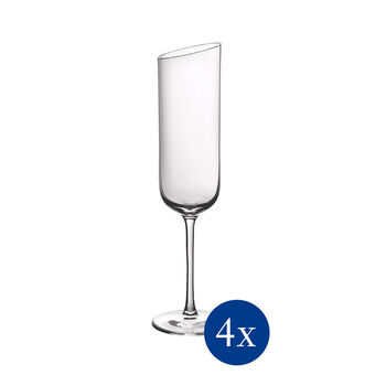 NewMoon set di bicchieri da spumante, 170 ml, 4 pezzi