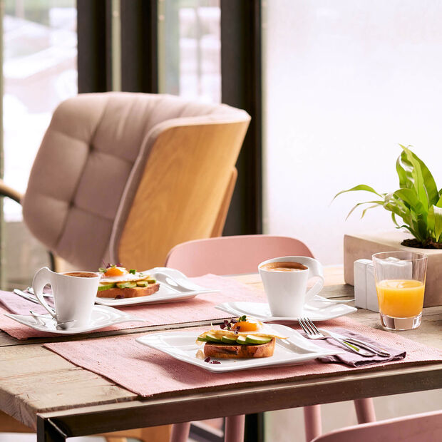 NewWave plato de desayuno cuadrado, , large