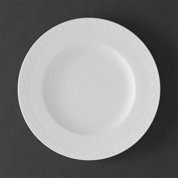 White Pearl piatto piano, , large