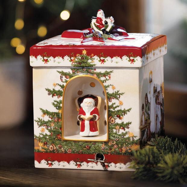 Christmas Toys Pacc. regalo grande quad., 2021 16x16x21,5cm, , large