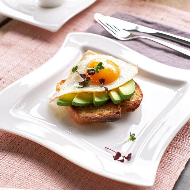 NewWave piatto da colazione quadrato, , large