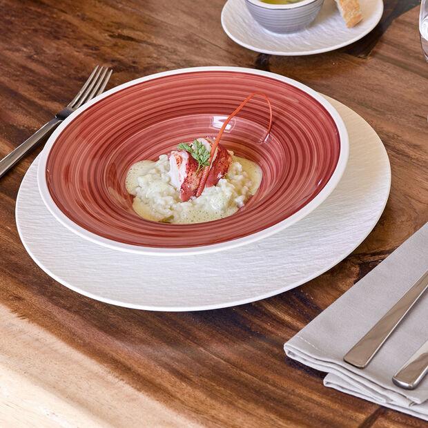 Manufacture Rock Blanc piatto piano, , large