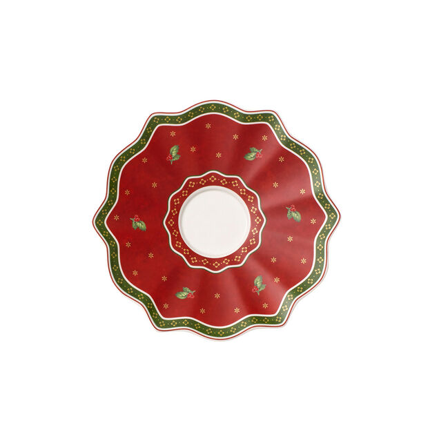 Toy's Delight platillo taza grande rojo, , large