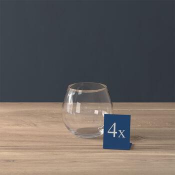 Entrée bicchiere da acqua, 570 ml, 4 pezzi