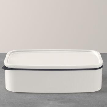 ToGo&ToStay porta pranzo, 20x13x6cm, quadrato, bianco