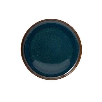 Crafted Denim piatto da colazione, blu, 21 cm
