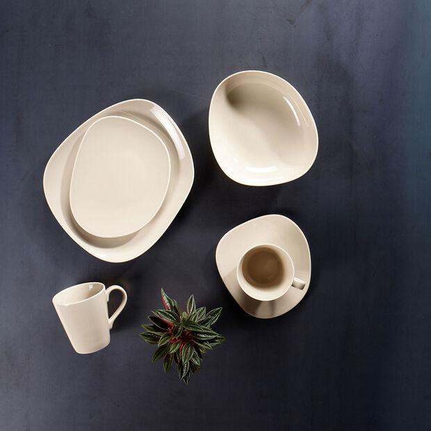 Organic Sand piattino per tazza da caffè, sabbia, 17,5 cm, , large