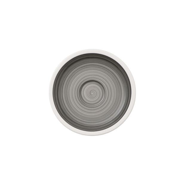 Manufacture gris piattino tazza da moka/espresso, , large