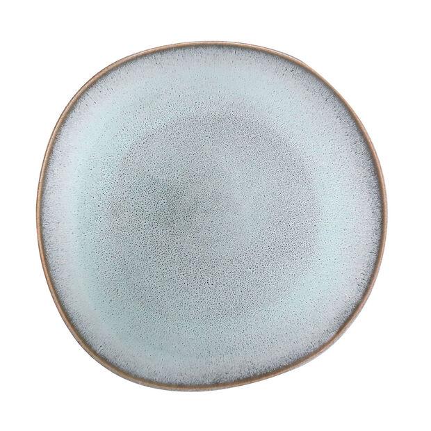 Lave Glacé piatto piano, turchese, 28 x 28 x 2,7 cm, , large