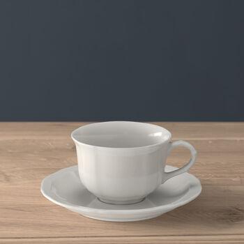 Manoir Taza té con plato