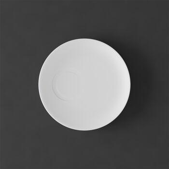 MetroChic blanc Piattino tazza espresso 14,5x14,5x1,5cm
