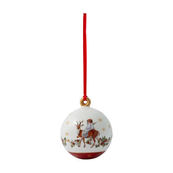 Annual Christmas Edition pallina 2020, 6,5 x 6,5 x 8 cm