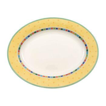 Twist Alea Limone piatto ovale 41 cm