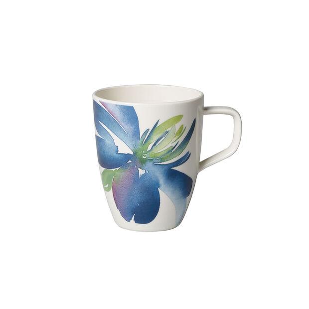 Artesano Flower Art tazza grande da caffè, , large