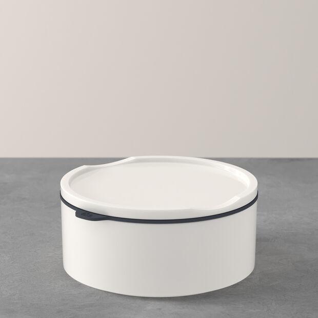 ToGo&ToStay porta pranzo, 13x6cm, rotondo, bianco, , large