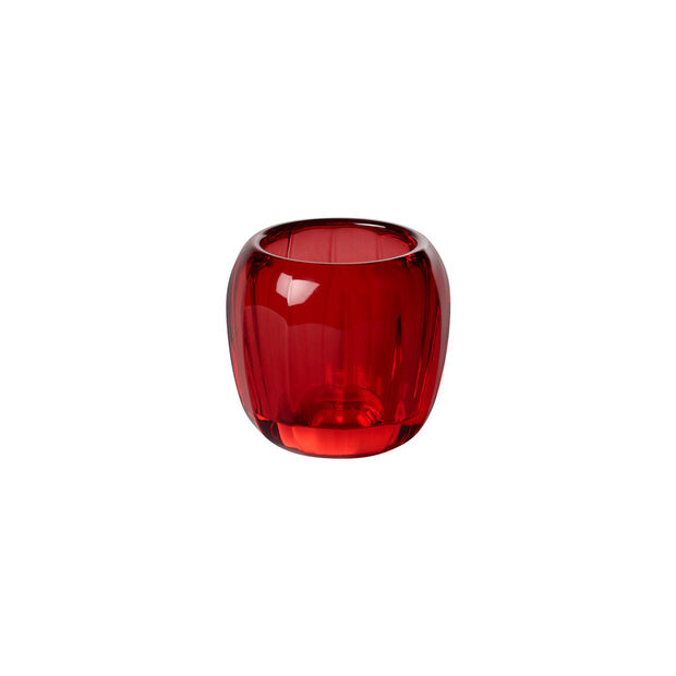 Coloured DeLight portacandeline piccolo Deep Red, , large