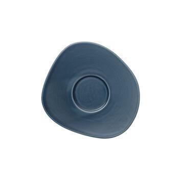 Organic Turquoise piattino per tazza da caffè, turchese, 17,5 cm