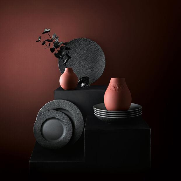 Manufacture Collier terre vaso alto, perla, 16x16x20cm, , large