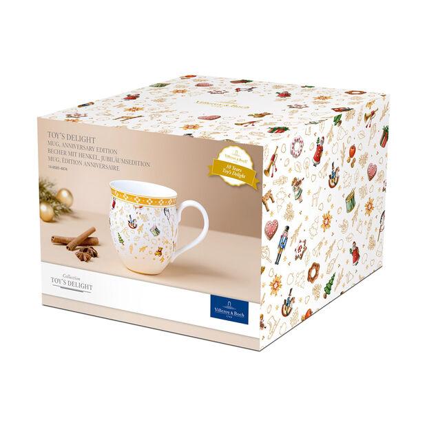 Toy's Delight tazza con manico, edizione anniversario, multicolore/oro/bianca, 340 ml, , large