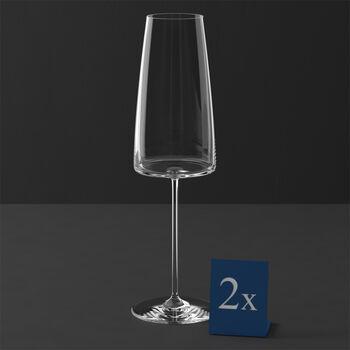 MetroChic copa de vino espumoso, 2 unidades, 450 ml