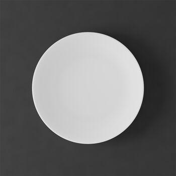 MetroChic blanc Piatto da dessert/colazione 22x22x2cm