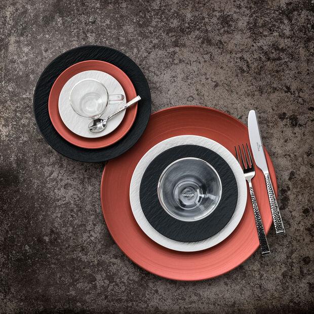 Manufacture Rock blanc Piattino tazza espresso 12x12x2cm, , large