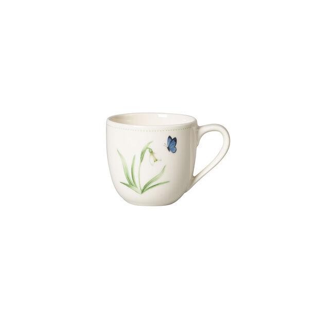 Colourful Spring tazza da espresso, 100 ml, bianco/verde, , large